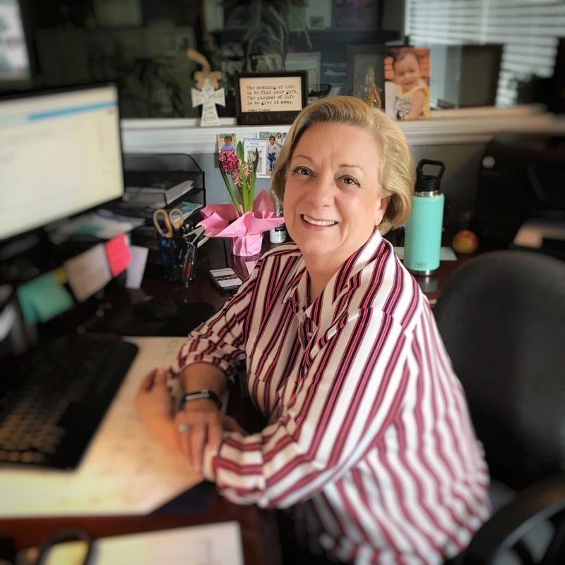 Brenda Harris is the Administrative Secretary at Benton Roofing in Hendersonville NC