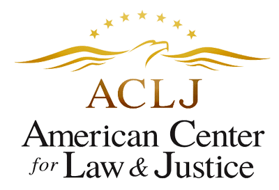 proud supporters of ACLJ - American Center for Law & Justice
