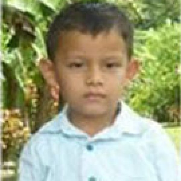 Erick is a Compassion child supported by Benton Roofing