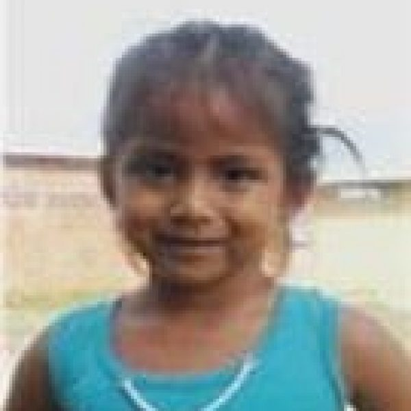 Leonela is a Compassion child supported by Benton Roofing
