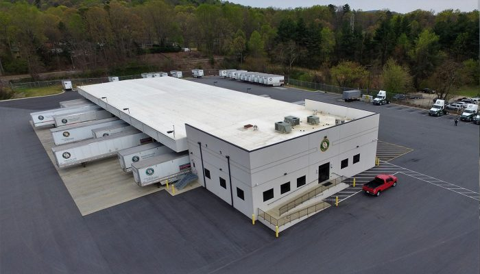 Commercial roof replacement on Old Dominion building