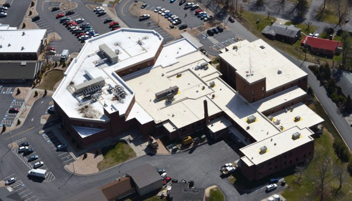 fibertite-roof-solution-on-hostpital-in-spruce-pine-nc